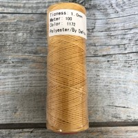 DAFNA Нитки вощеные 1мм (1172 бледно-желтый)