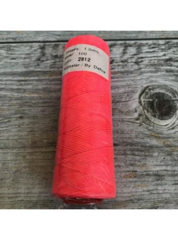 DAFNA Нитки вощеные 1мм (2812 ярко-розовый)