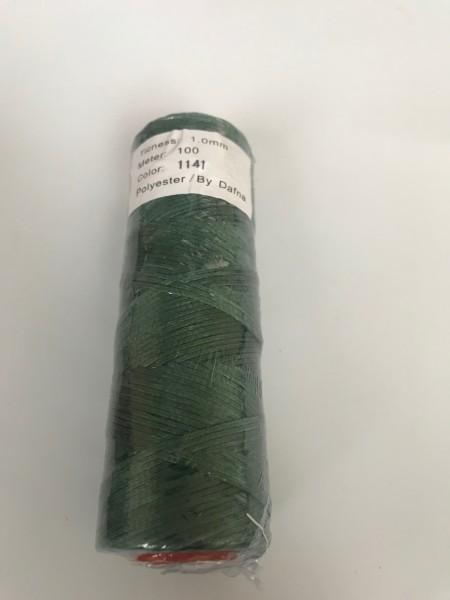 DAFNA Нитки вощеные 1мм (1141 зеленый)