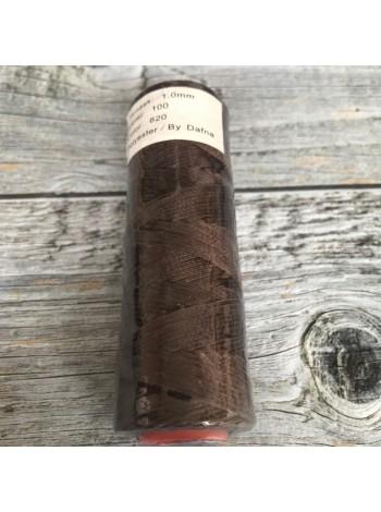 DAFNA Нитки вощеные 1мм (620 коричневый)