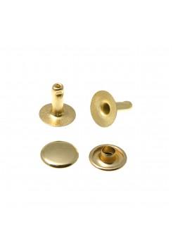 Хольнитены 9*9 мм золото