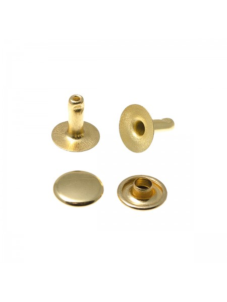 Хольнитены 6*6 мм золото