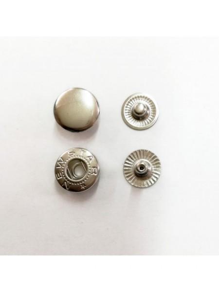 Кнопки 12,5 мм Никель